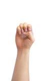Ręka szyldowy język Obrazy Royalty Free
