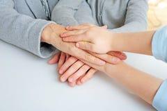 ręka wierzchołek Fotografia Royalty Free
