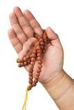 Ręka z Buddyjskim różanem Obraz Stock