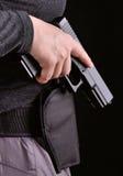 Ręka z pistoletem obraz royalty free