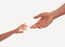 ręka znak Zdjęcie Royalty Free
