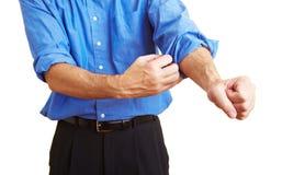 rękaw obsługuje tocznych rękawy toczny Zdjęcia Stock