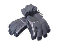 rękawiczek pary narty zima Obraz Royalty Free
