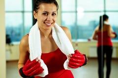 rękawiczka żeński sport obraz royalty free