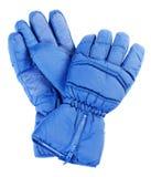 rękawiczki odizolowywająca narta Obraz Royalty Free