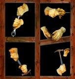 rękawiczki praca Fotografia Royalty Free