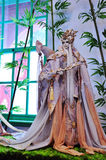 Rękawiczkowa puppetry wystawa, Yunlin okręg administracyjny w Tajwan Zdjęcia Stock