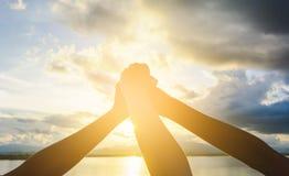 ręki łączą Zdjęcie Stock