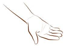 Ręki Błagać ilustracja wektor