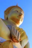 Ręki Buddha statua obrazy stock