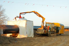 ręki buldozer przyrządu spaw Obrazy Stock