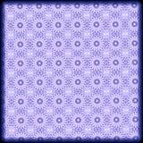 ręki drawnd błękitny geometryczny wzór Zdjęcie Stock