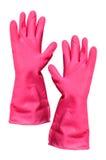 Ręki gumy rękawiczka zdjęcia stock