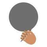 ręki i rozmowy bąbel ilustracja wektor