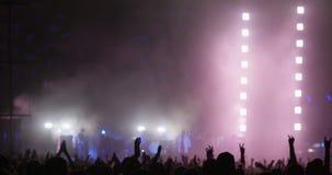 Ręki Klascze przy festiwalem muzyki zbiory wideo