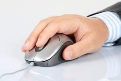ręki komputerowa mysz zdjęcie royalty free