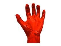 Ręki krwi tło Obraz Royalty Free
