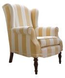 ręki krzesła tkanina Fotografia Stock