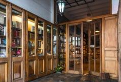 Ręki księgarnia zdjęcie stock