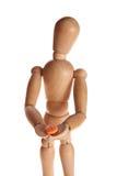 ręki mężczyzna pastylka Obrazy Stock