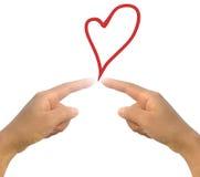 ręki miłość Zdjęcie Royalty Free