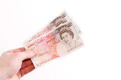 ręki mienia pieniądze Obraz Royalty Free