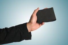 ręki mienia portfel Zdjęcia Royalty Free