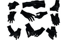 Ręki mienia ręka wpólnie Fotografia Stock