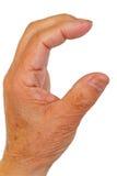 ręki mienie coś zdjęcia stock