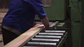 Ręki mistrzowski rżnięty drzewo, woodworking zbiory wideo