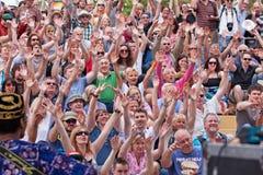 Ręki Podnosić w aklamaci Fotografia Royalty Free