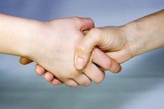 ręki potrząśnięcie Zdjęcie Royalty Free