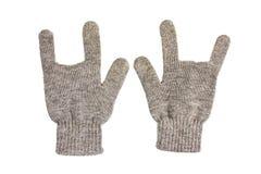 ręki rękawiczkowa skała fotografia royalty free