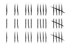 Ręki rysować karbownic oceny ilustracja wektor