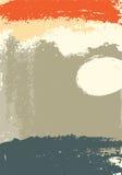 Ręki rysujący obrazu muśnięcia uderzenia plamią abstrakcjonistycznego tło również zwrócić corel ilustracji wektora Fotografia Stock