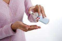 ręki sanitizer Zdjęcia Stock