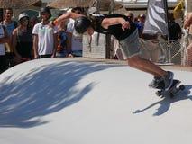 ręki Surfkate festiwal 2016 - mężczyzna konkurs Zdjęcie Stock
