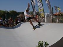 ręki Surfkate festiwal 2016 - mężczyzna konkurs Fotografia Stock