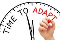Czas Adaptować Obraz Stock