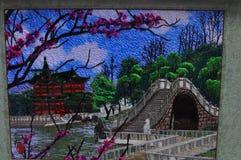 Rękodzieła dla sprzedaży przy Starymi miasto bóg ` s Świątynnymi pamiątkarskimi sklepami w Szanghaj Chiny Zdjęcie Royalty Free