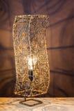 Rękodzieło lampa Zdjęcia Royalty Free