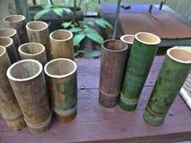 Rękodzieło od bambusa obraz royalty free