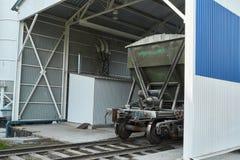 Rękodzielnicze betonowe płyty zbrojona betonowa produkcja Fotografia Royalty Free