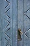 Rękojeść na starym drzwi Zdjęcia Stock