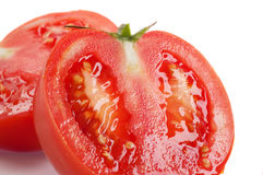 rżnięci pomidory Obrazy Stock