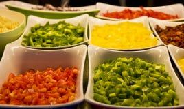 rżnięci warzywa Obraz Royalty Free
