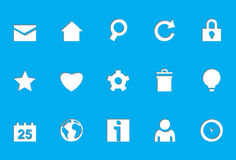 rżnięta kostkowa ikon internetów serii sieć royalty ilustracja