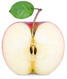 Rżnięta połówka Apple zdjęcia royalty free