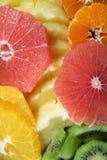Rżnięte owoc Zdjęcie Stock