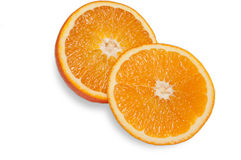 rżnięte pomarańcze Zdjęcie Stock